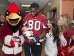 Childrens AZ Cardinals visit by Mark Thaler